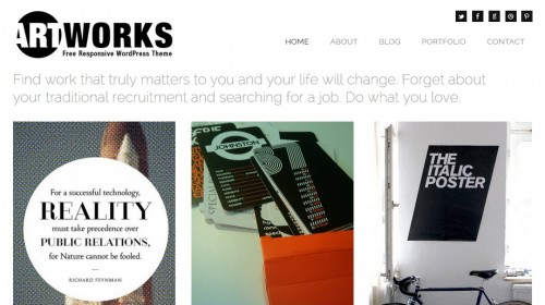 Art Works Responsive Theme
