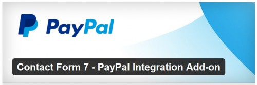 Contact Form 7 - PayPal Integration Add-on