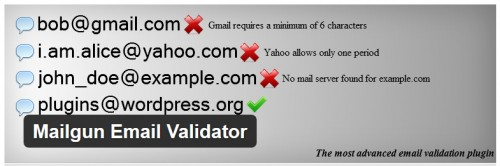 Mailgun Email Validator