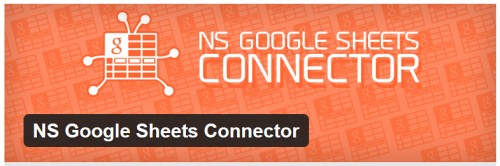 NS Google Sheets Connector