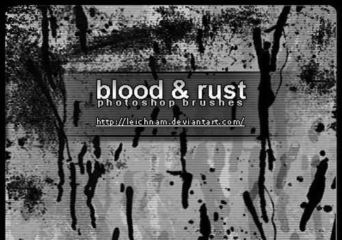 17 Blood And Rust Brushes