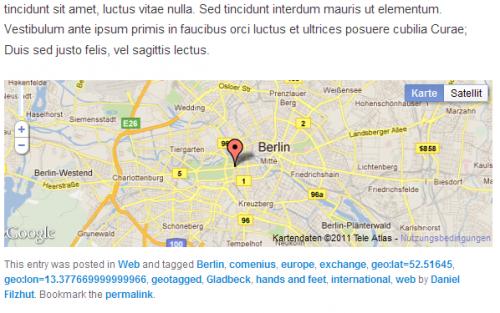 GeoMetatags