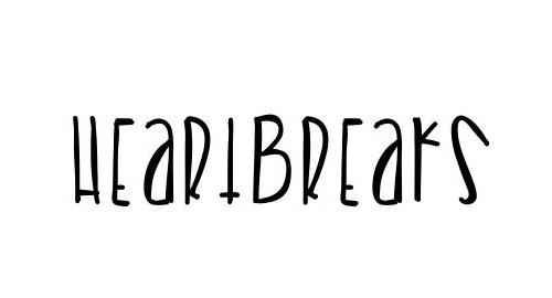 Heartbreaks Font
