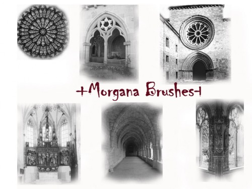 Morgana Gothic Places Brushes