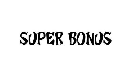 Super Bonus Font