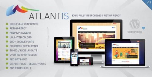 Atlantis - Responsive Retina Ready Theme