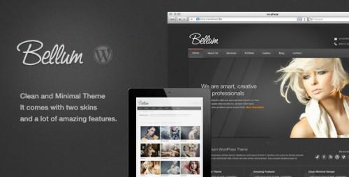 Bellum WordPress Premium Theme