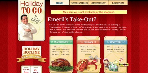 Emerils Holiday