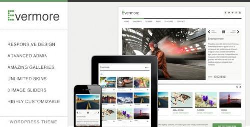 Evermore - Premium Responsive WP Theme