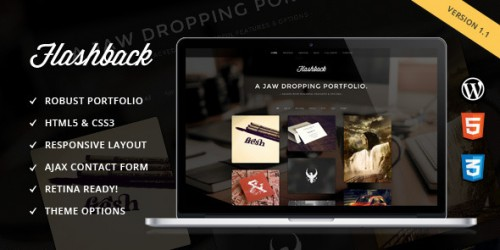 Flashback - Jaw Dropping Portfolio WP Theme