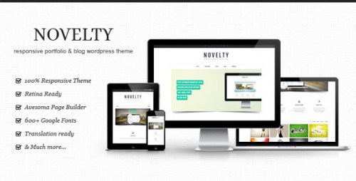 Novelty - Retina Ready Responsive Theme
