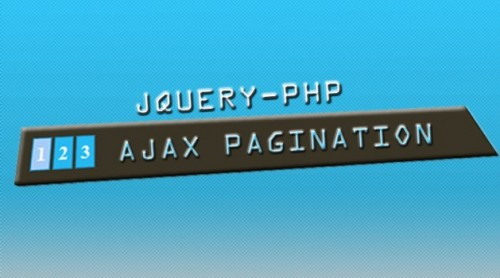 Jquery-Php AJAX Pagination