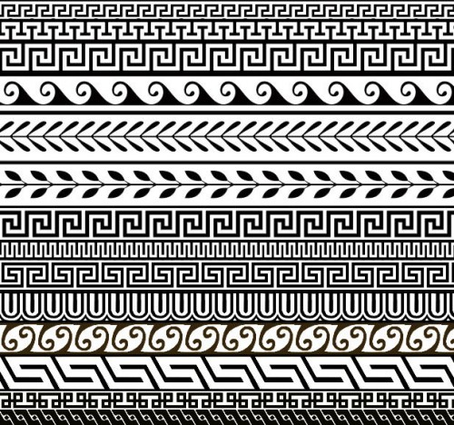 14 Free Greek Ornament Patterns