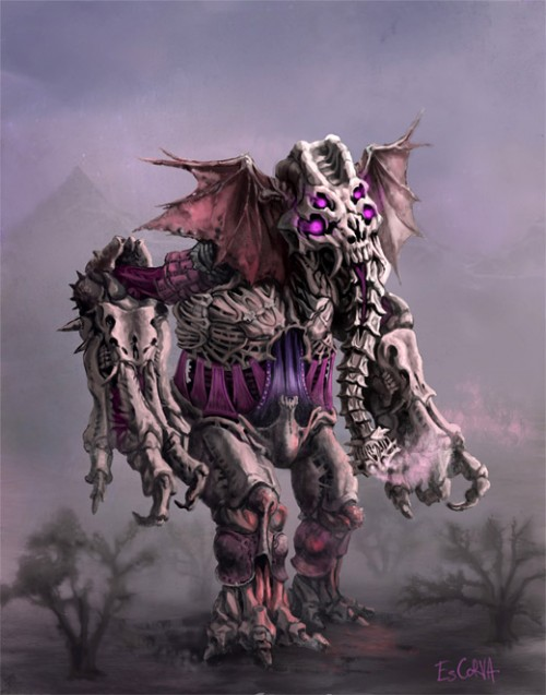 Cool Death Colossus Art