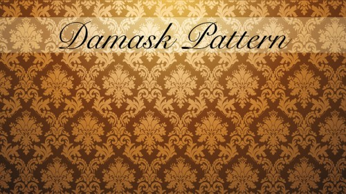 Damask Pattern Seamless