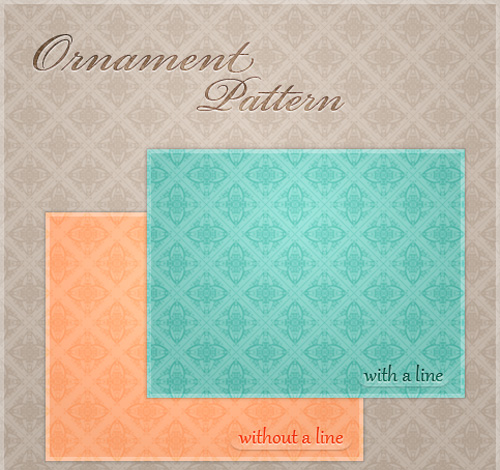 Photoshop Ornament Pattern