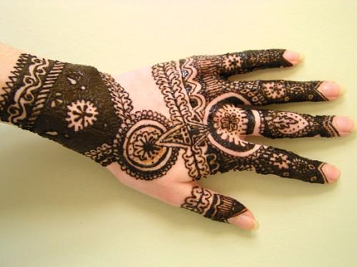 Amazing Hand Mehndi Tattoos