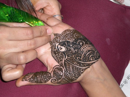 Awesome Henna Tattoo Style