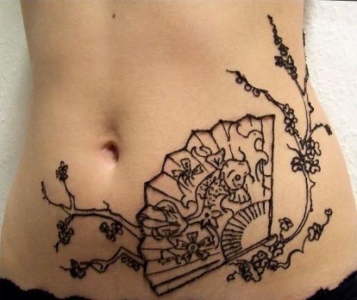Japan Henna Tattoo Trend