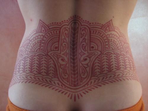 Mehndi Tattoo - Finished
