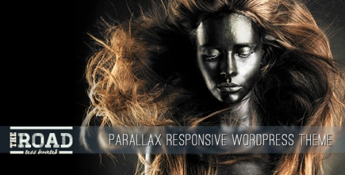 The Road - Parallax Responsive WordPress Theme