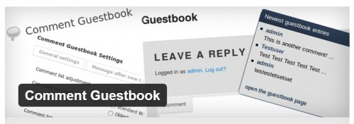 Comment Guestbook