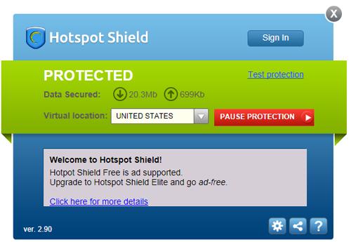 HotSpot Shield Free