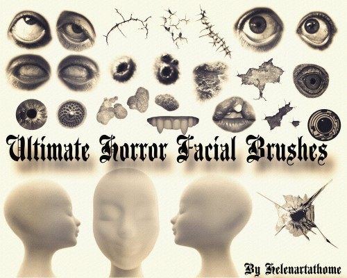 46 Horror Facial Brushes