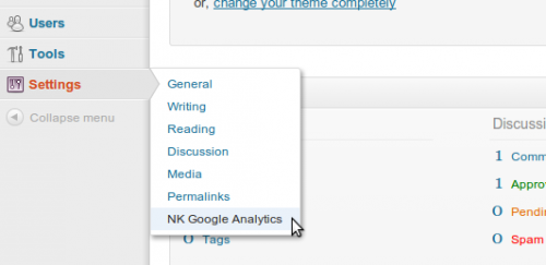 NK Google Analytics