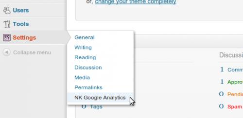 NK Google Analytics