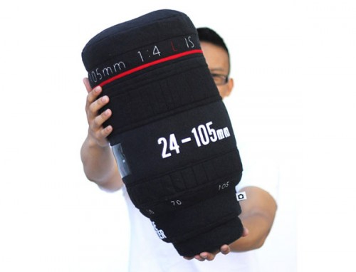 Plushtography Lens Pillows