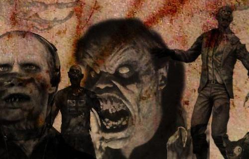 Zombie Photoshop Brushes