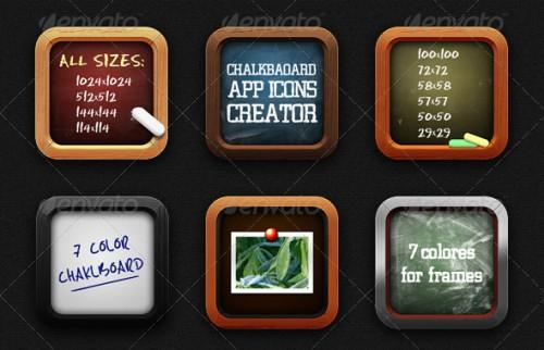 Chalkboard App Icon