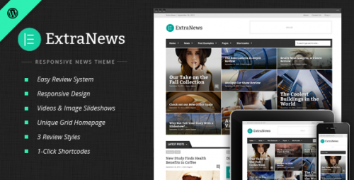 ExtraNews - News and Magazine Theme