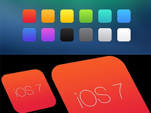 Free iOS 7 App Icon Template
