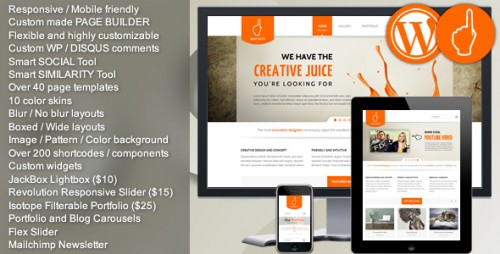 Wise Guys - Responsive WordPress