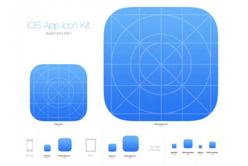 iOS 7 App Icon Kit