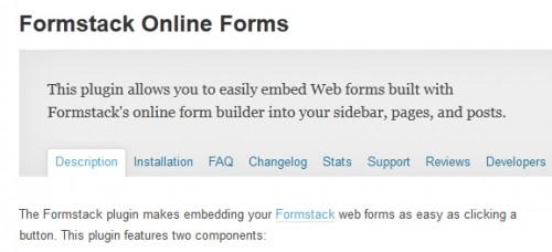 Formstack Online Forms