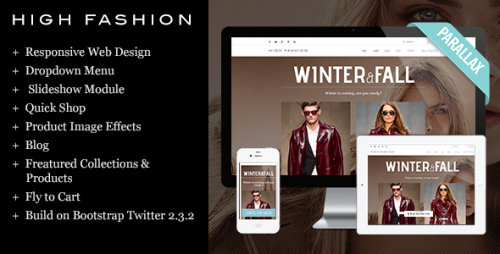 High Fashion Responsive Shopify Theme