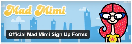 Official Mad Mimi Sign Up Forms