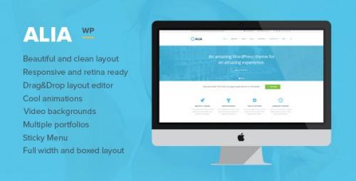 Alia - Responsive Multi-Purpose WordPress Theme