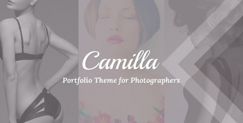Camilla - Fullscreen Photography Theme