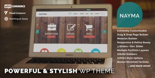Nayma - Responsive Multi-Purpose WP Theme