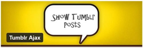 Tumblr Ajax