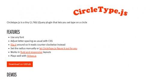 Circletype.js