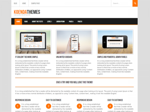 Koenda Business Theme