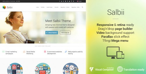 Salbii - Responsive Multi-Purpose WP Theme