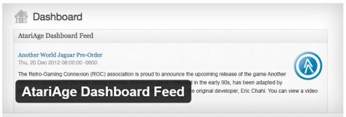 AtariAge Dashboard Feed