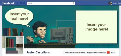 Cool Facebook Timeline Cover Page Template