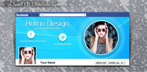 Free Clean Facebook Timeline Cover